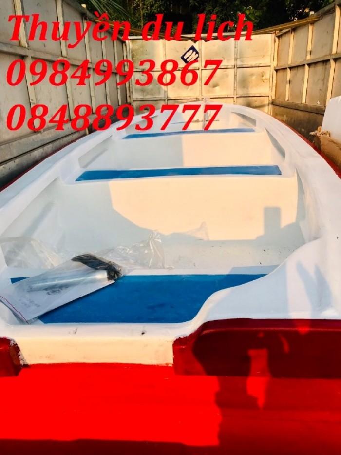 Thuyền Composite Chèo Tay 3,6mx1,1mx0,5m3