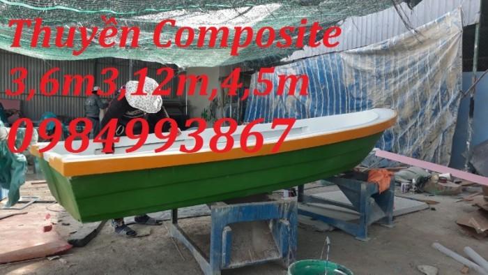 Thuyền Composite Chèo Tay 3,6mx1,1mx0,5m2