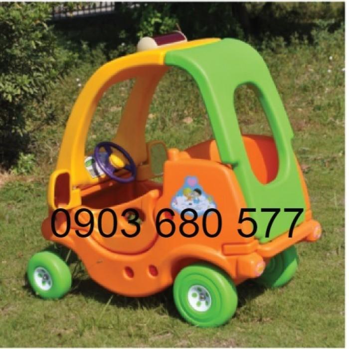 Cần bán xe chòi chân vận động có mái vòm cho bé mầm non1