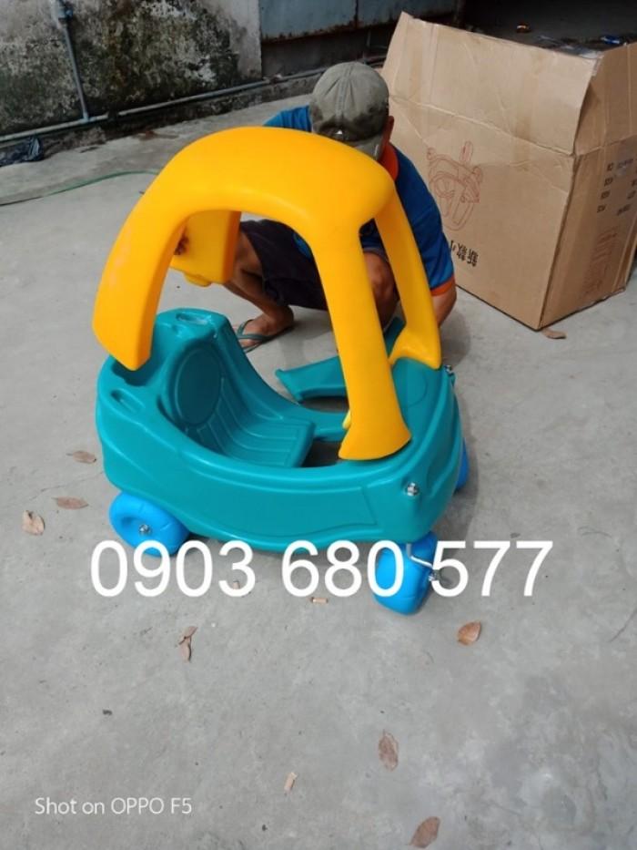 Cần bán xe chòi chân vận động có mái vòm cho bé mầm non8