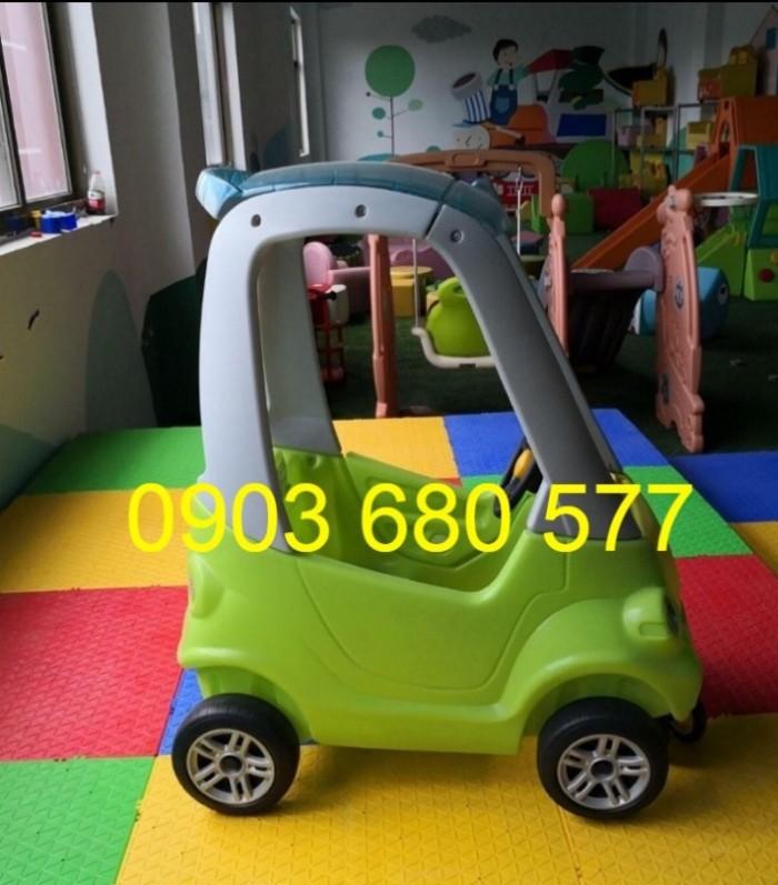 Cần bán xe chòi chân vận động có mái vòm cho bé mầm non5
