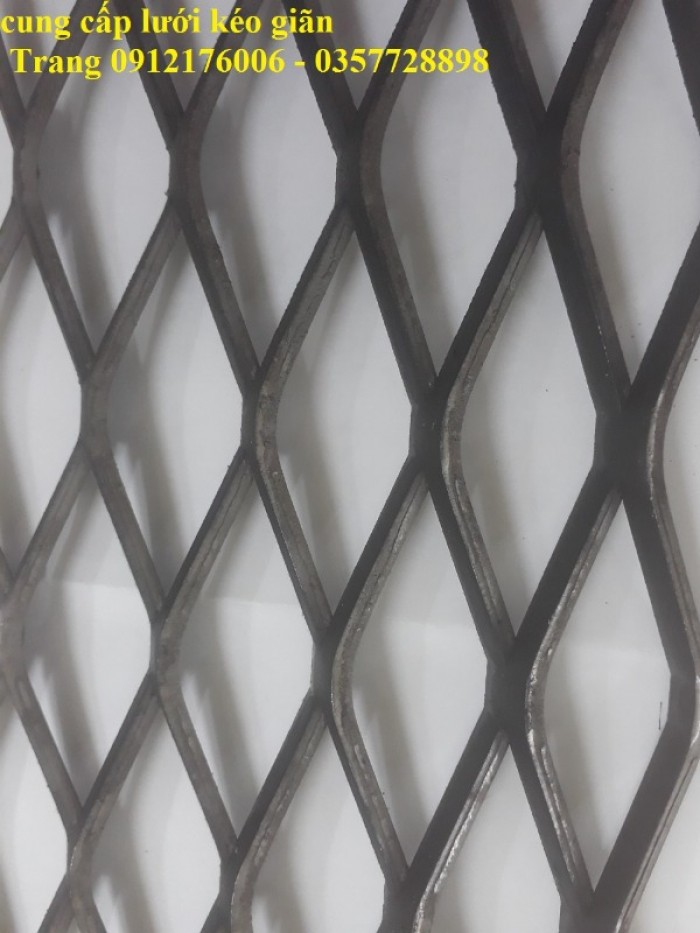 Lưới dập giãn- lưới quả trám- Lưới hình thoi dầy 1.2ly, 1.5ly, 2ly, 3ly, mắt lưới 10x20, 20x40,