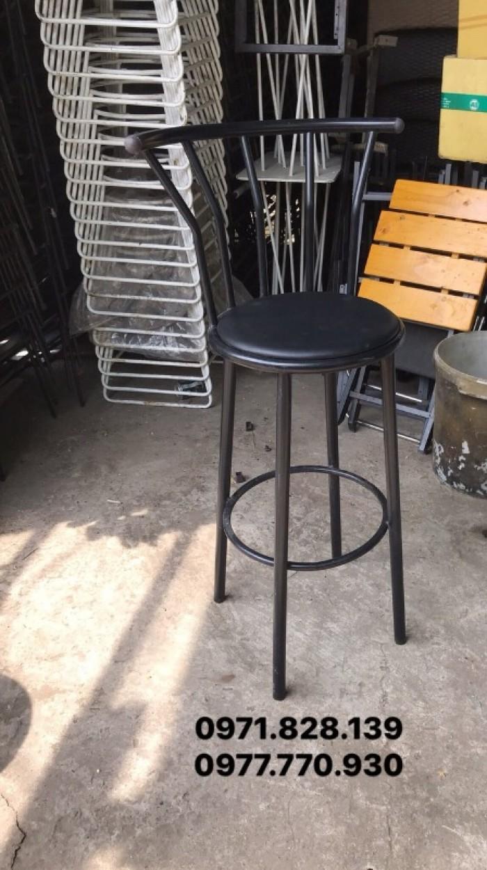 Ghế bar cafe thanh lý2