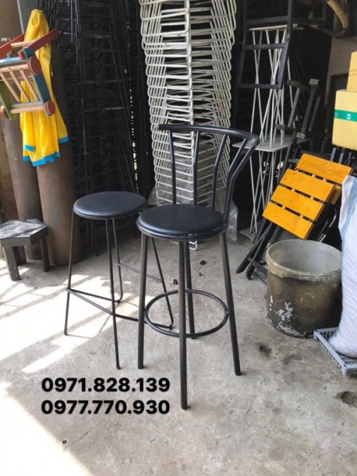 Ghế bar cafe thanh lý3