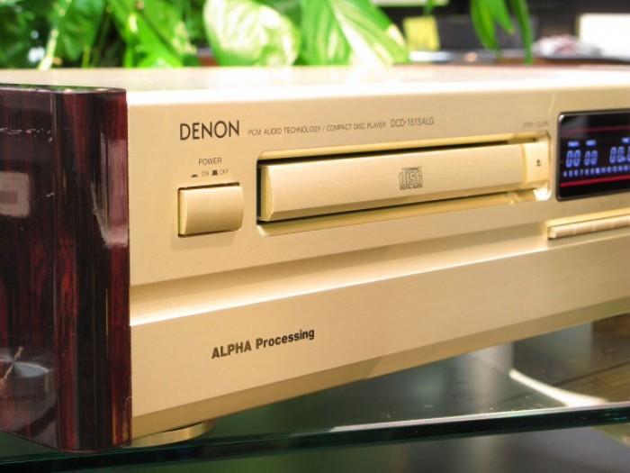 Bán chuyên CD Denon 1515 ALG màu vàng tranh hàng bải tuyển chọn từ nhật về long lanh5