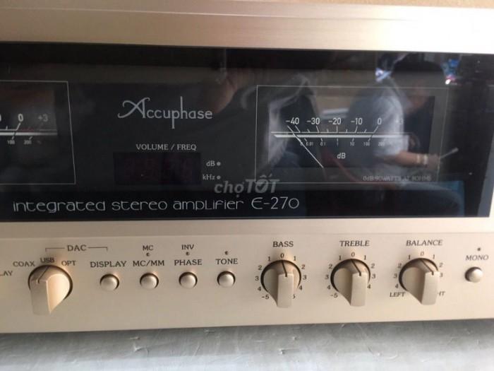 Bán chuyên Ampli Accuphase E270 hàng bải tuyển chọn từ nhật về long lanh , không chỉnh sửa .2