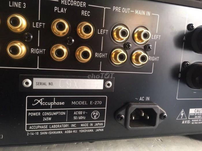 Bán chuyên Ampli Accuphase E270 hàng bải tuyển chọn từ nhật về long lanh , không chỉnh sửa .3