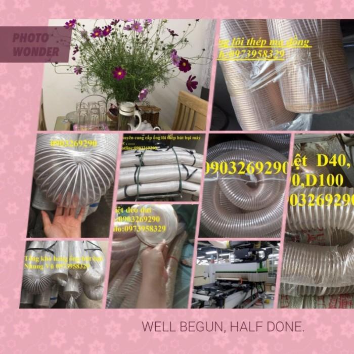 siêu thị ống hút bụi pu lõi thép mạ đồng = Ms Nhung 09739583290