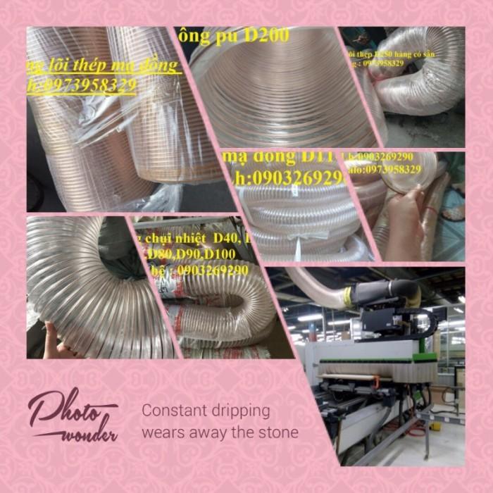 Ống nhựa Pvc - Pu lõi thép bọc nhựa DN40, DN50, DN60, DN80, DN90, DN100, DN120, DN150, DN200, DN250, DN3002