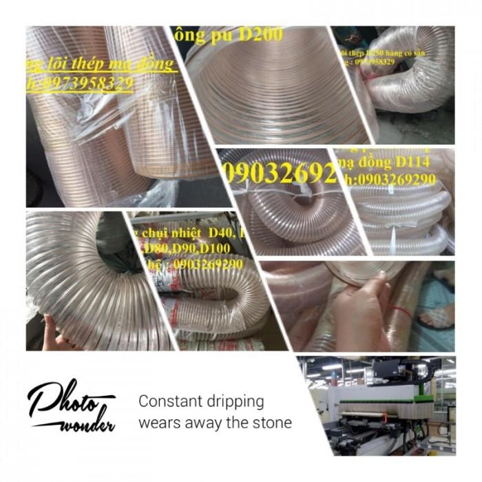 Ống nhựa Pvc - Pu lõi thép bọc nhựa DN40, DN50, DN60, DN80, DN90, DN100, DN120, DN150, DN200, DN250, DN3003
