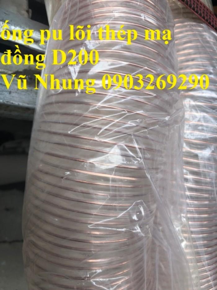 Ống nhựa Pvc - Pu lõi thép bọc nhựa DN40, DN50, DN60, DN80, DN90, DN100, DN120, DN150, DN200, DN250, DN30012