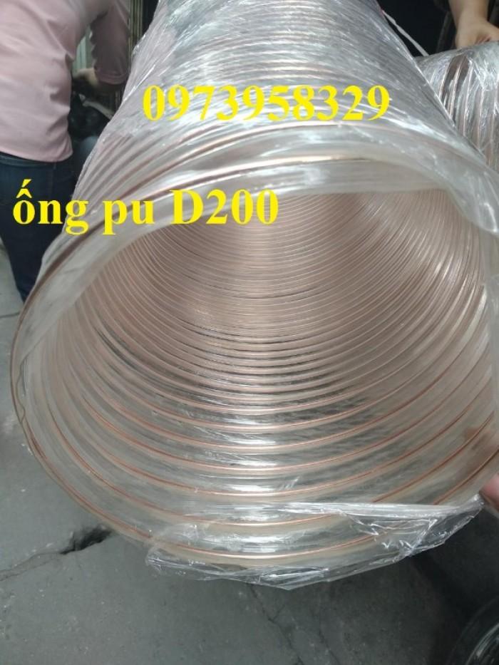Ống nhựa Pvc - Pu lõi thép bọc nhựa DN40, DN50, DN60, DN80, DN90, DN100, DN120, DN150, DN200, DN250, DN30017