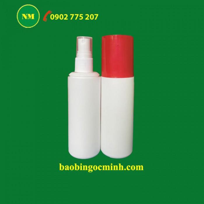 Chai nhựa Pet đựng nước rửa chén Ngọc Minh7