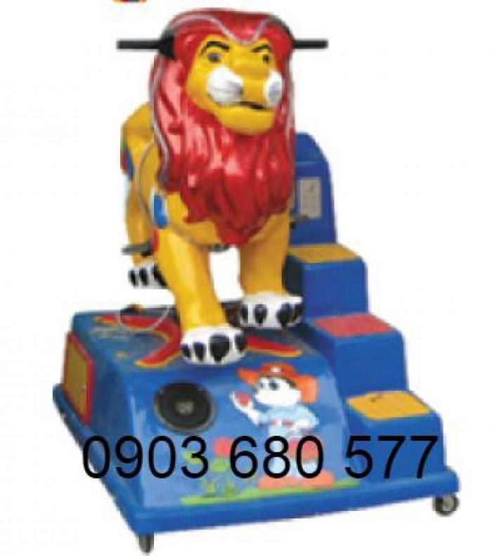 Cung cấp đồ chơi thú nhún điện trẻ em cho trường mầm non, khu vui chơi, công viên0