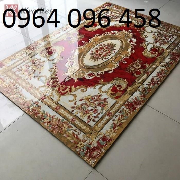 gạch thảm 3d phòng khách KLT171