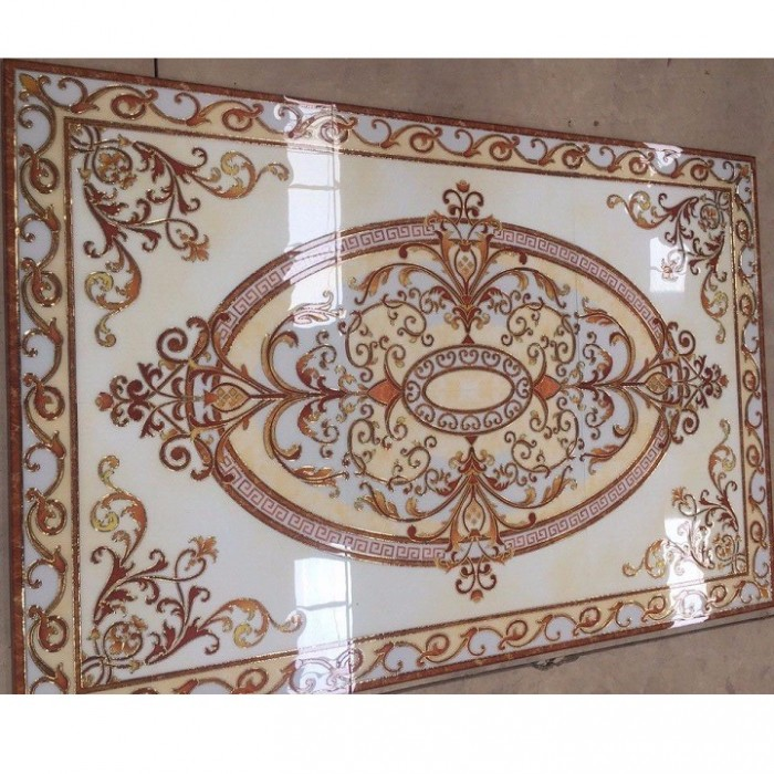 gạch thảm 3d phòng khách KLT175