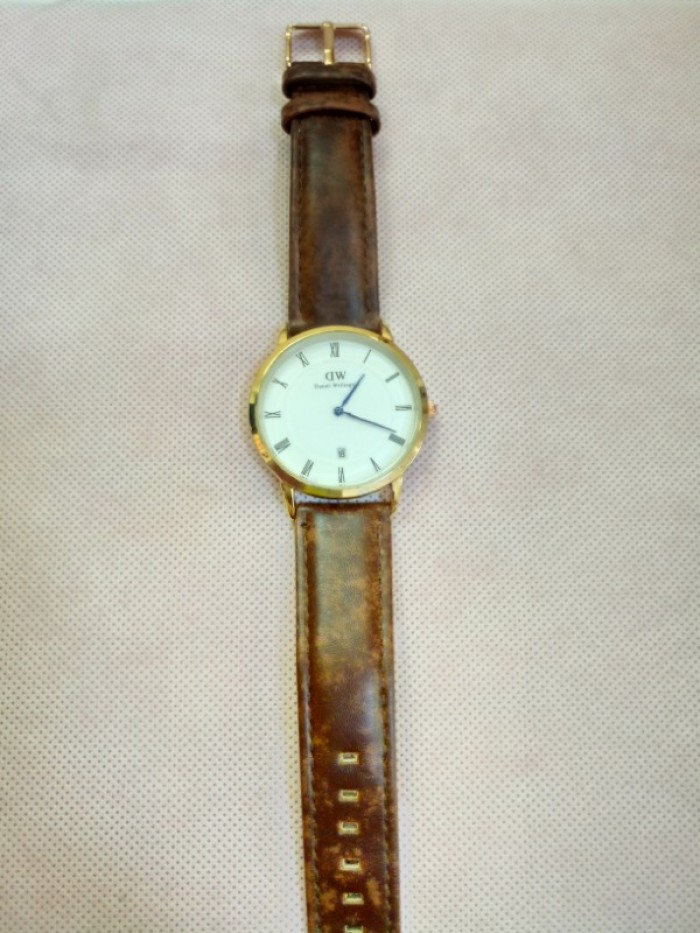 Đồng hồ quartz Nam dây da .1