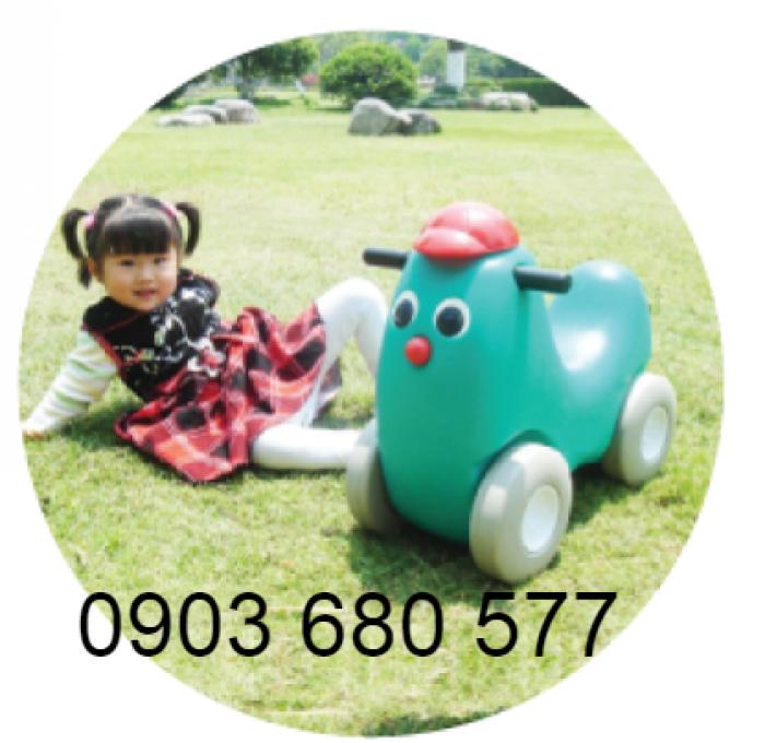 Chuyên bán đồ chơi xe chòi chân 4 bánh, xe lắc cho bé mầm non4