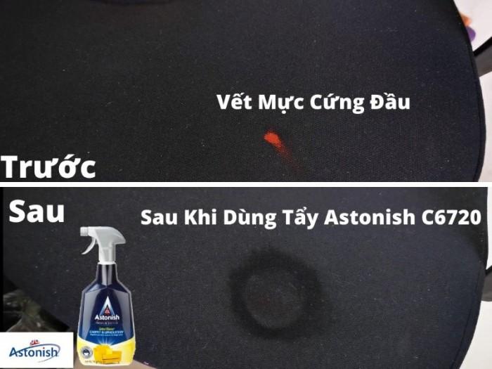 Dung Dịch Tẩy Vết Bẩn Trên Thảm Nỉ Siêu Sạch Astonish C6720 750ml