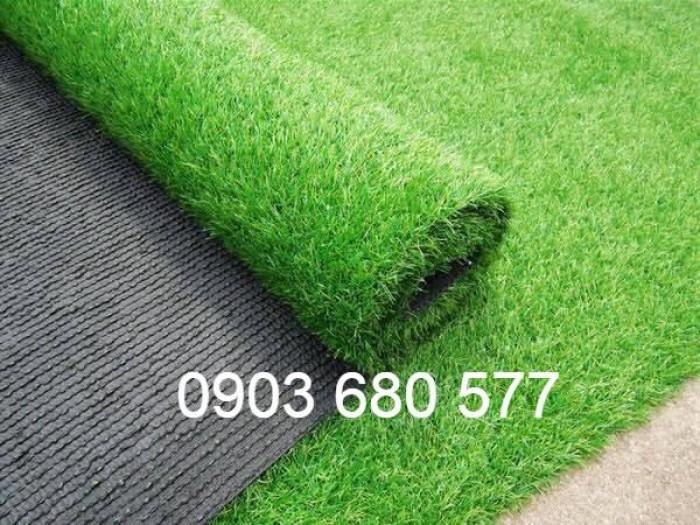 Chuyên nhận thi công cỏ nhân tạo trang trí cho trường mầm non, sân bóng, sân chơi5