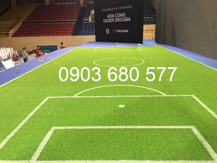Chuyên nhận thi công cỏ nhân tạo trang trí cho trường mầm non, sân bóng, sân chơi11