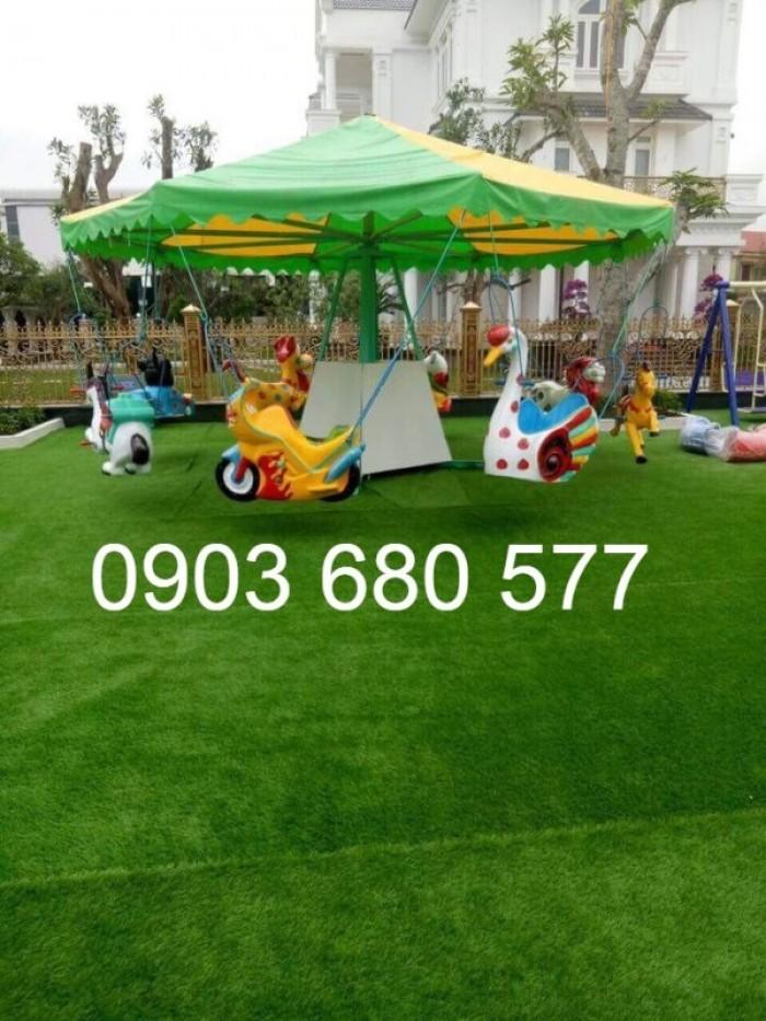 Chuyên nhận thi công cỏ nhân tạo trang trí cho trường mầm non, sân bóng, sân chơi22