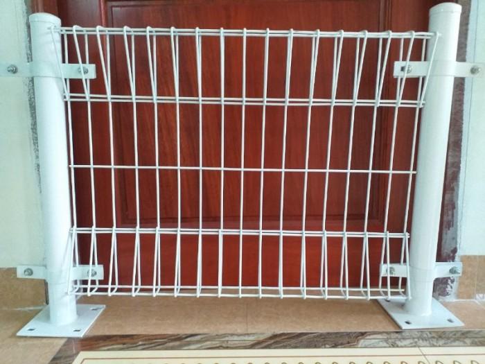 Hàng rào lưới thép D5 a 50x150, 50x200 chấn sóng mạ kẽm,hàng rào sơn tĩnh điện14
