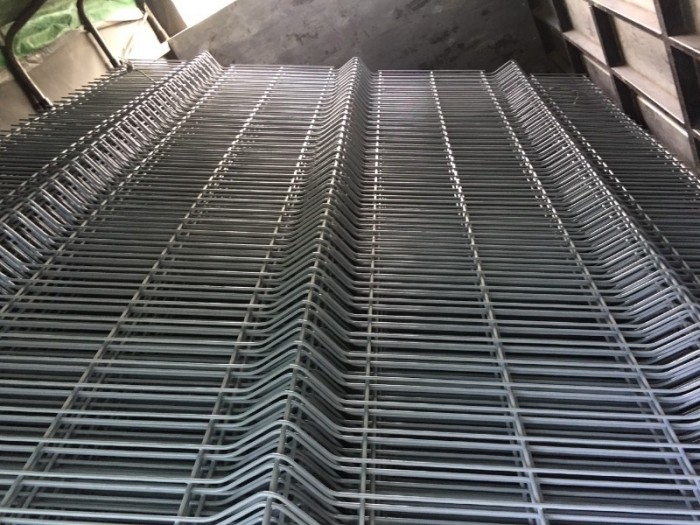 Hàng rào lưới thép D5 a 50x150, 50x200 chấn sóng mạ kẽm,hàng rào sơn tĩnh điện15