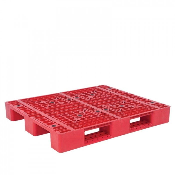 Pallet nhựa 704, sóng, kết nhựa  tải hàng và chứa hàng giá siêu rẻ và siêu bền2