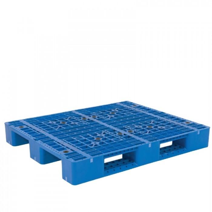 Pallet nhựa 704, sóng, kết nhựa  tải hàng và chứa hàng giá siêu rẻ và siêu bền0