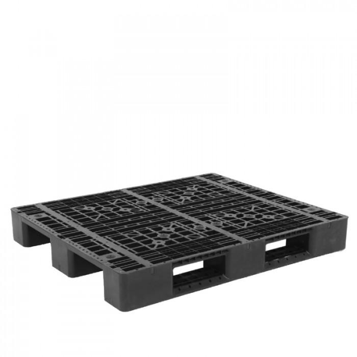 Pallet nhựa 704, sóng, kết nhựa  tải hàng và chứa hàng giá siêu rẻ và siêu bền1