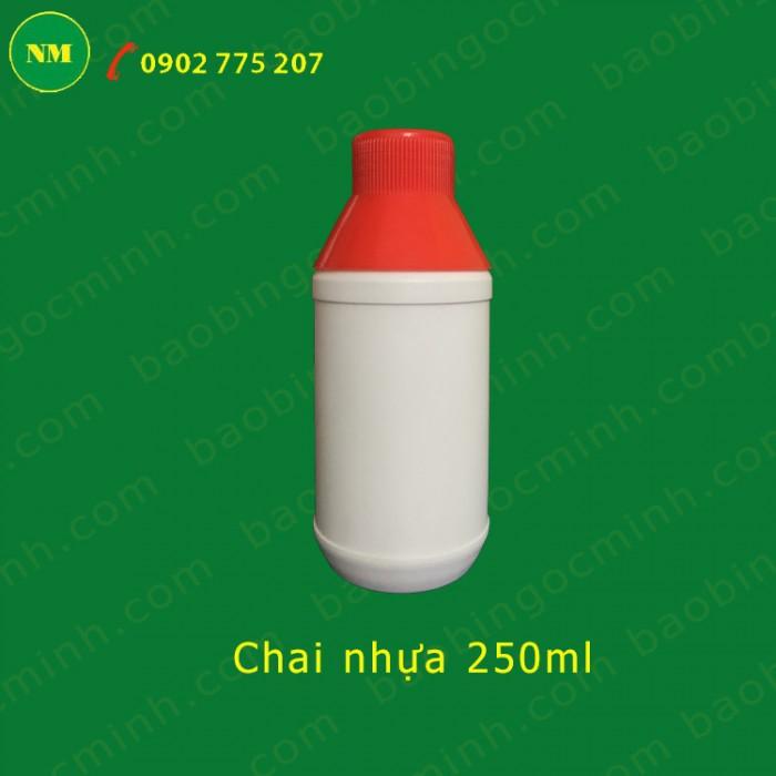 chai nhựa 250ml hdpe8