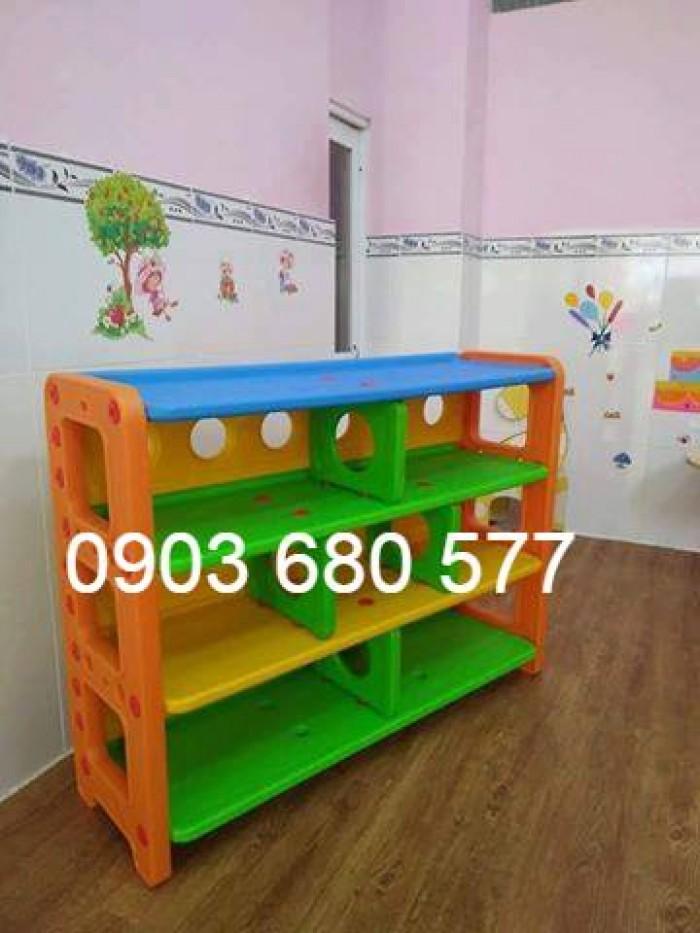 Cần bán tủ kệ mầm non dành cho trẻ em giá rẻ, chất lượng cao11