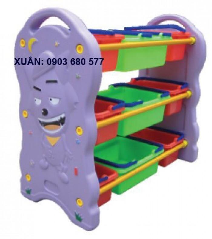 Cần bán tủ kệ mầm non dành cho trẻ em giá rẻ, chất lượng cao5