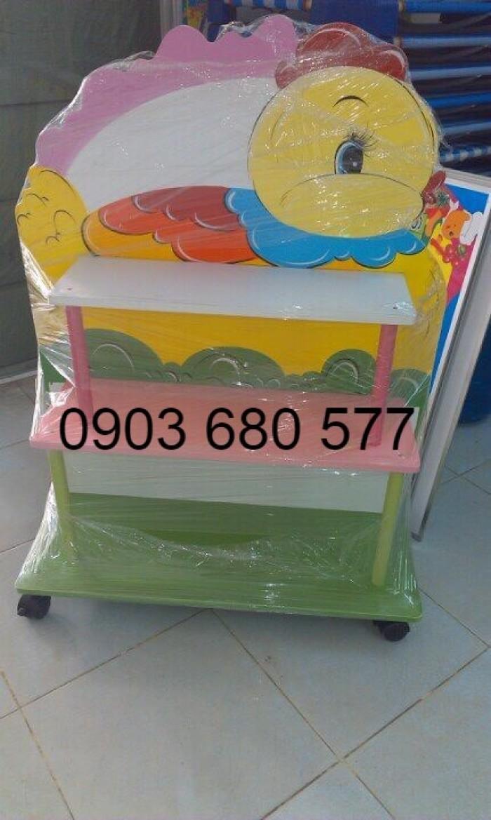 Cần bán tủ kệ mầm non dành cho trẻ em giá rẻ, chất lượng cao25