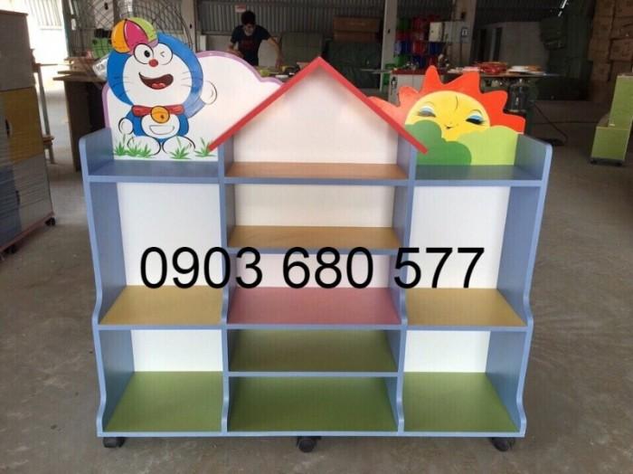 Cần bán tủ kệ mầm non dành cho trẻ em giá rẻ, chất lượng cao14