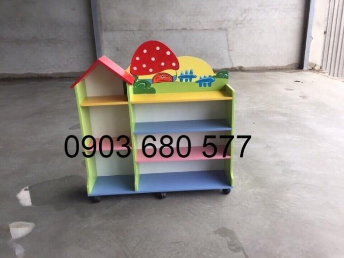 Cần bán tủ kệ mầm non dành cho trẻ em giá rẻ, chất lượng cao13
