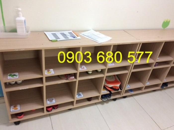 Cần bán tủ kệ mầm non dành cho trẻ em giá rẻ, chất lượng cao17