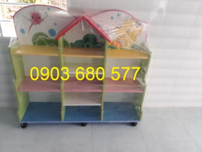 Cần bán tủ kệ mầm non dành cho trẻ em giá rẻ, chất lượng cao19
