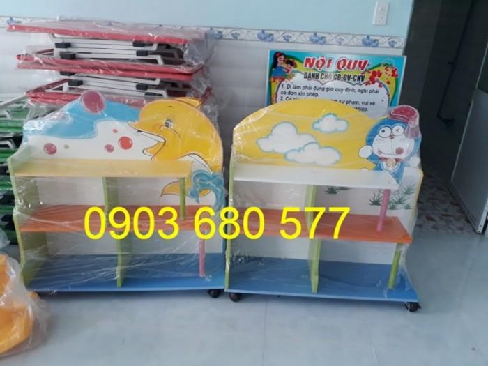 Cần bán tủ kệ mầm non dành cho trẻ em giá rẻ, chất lượng cao18