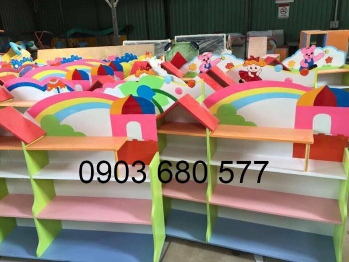 Cần bán tủ kệ mầm non dành cho trẻ em giá rẻ, chất lượng cao21