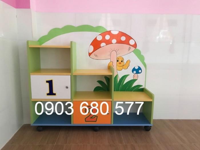 Cần bán tủ kệ mầm non dành cho trẻ em giá rẻ, chất lượng cao20