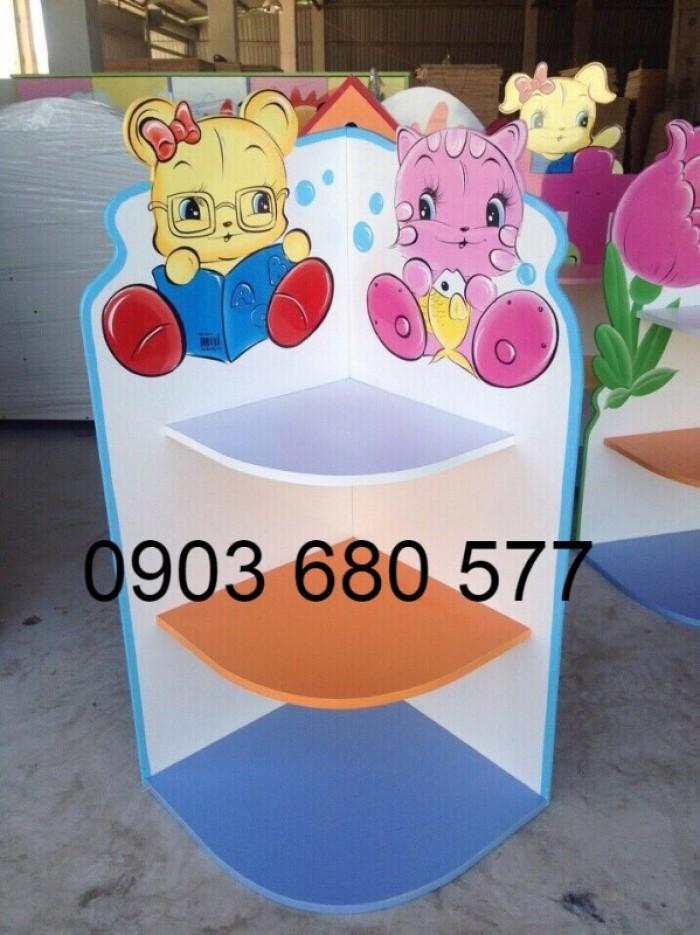Cần bán tủ kệ mầm non dành cho trẻ em giá rẻ, chất lượng cao28
