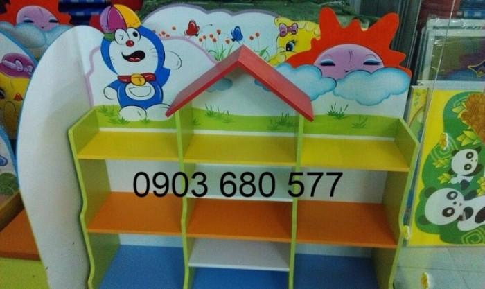 Cần bán tủ kệ mầm non dành cho trẻ em giá rẻ, chất lượng cao15