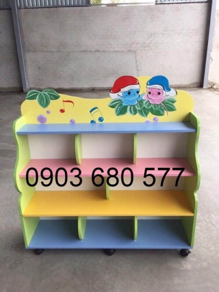Cần bán tủ kệ mầm non dành cho trẻ em giá rẻ, chất lượng cao24