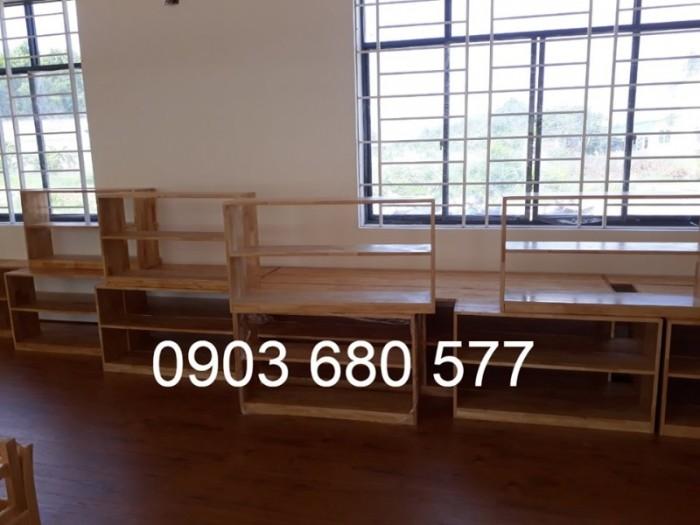 Cần bán tủ kệ mầm non dành cho trẻ em giá rẻ, chất lượng cao22