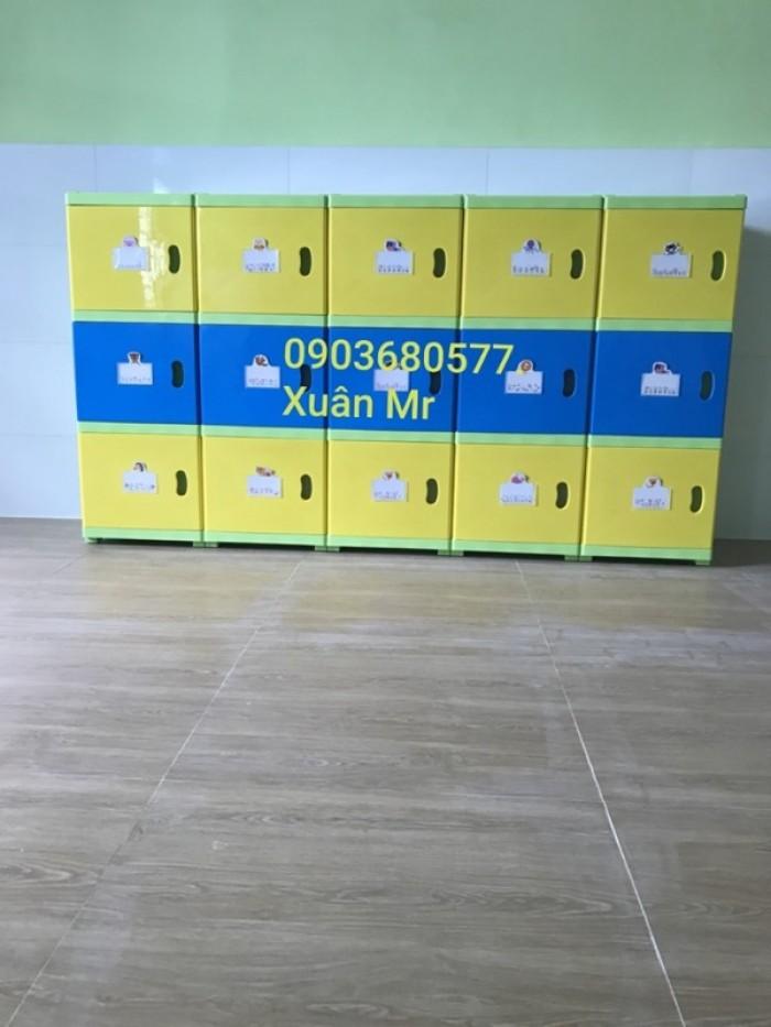 Cần bán tủ kệ mầm non dành cho trẻ em giá rẻ, chất lượng cao34