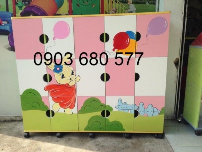 Cần bán tủ kệ mầm non dành cho trẻ em giá rẻ, chất lượng cao30