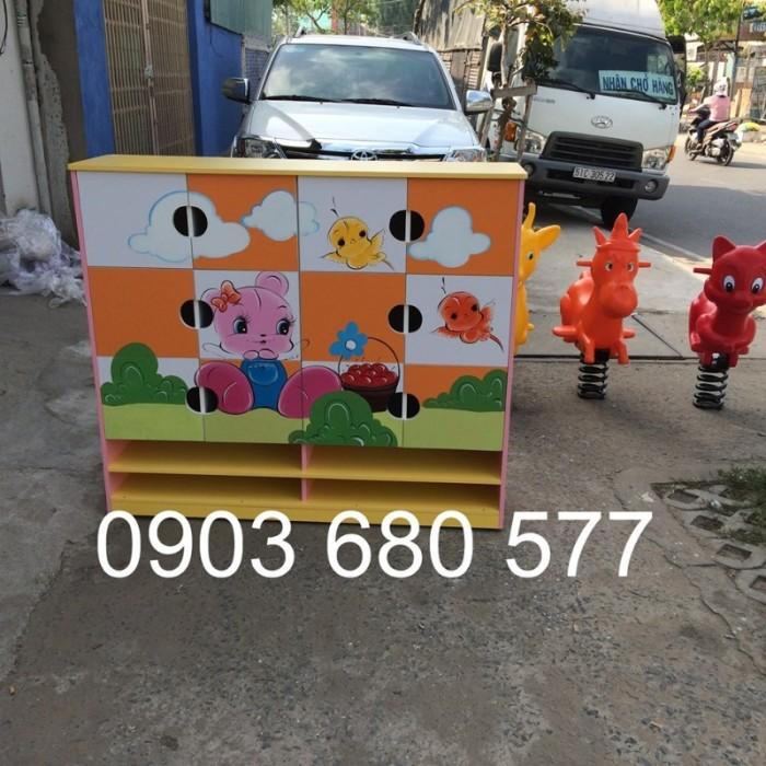Cần bán tủ kệ mầm non dành cho trẻ em giá rẻ, chất lượng cao32