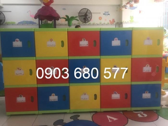 Cần bán tủ kệ mầm non dành cho trẻ em giá rẻ, chất lượng cao31